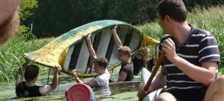 Boote kentern!